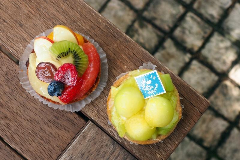 oHacorte 港川店|吃了幸福滿滿的水果塔,第一名是綜合水果塔(浦添外人住宅)